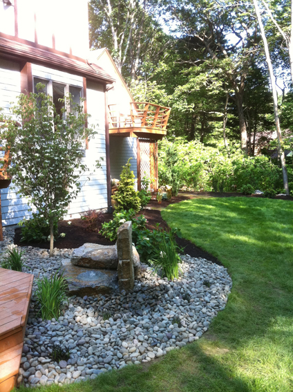 Landscape design and installation ri rhode island for Landscape design ri